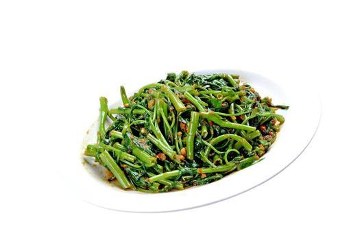 Fried Kangkong with Sambal 马来风光