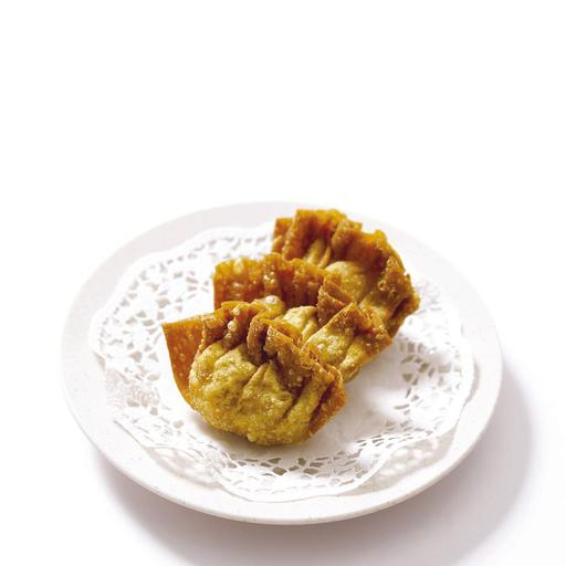 Fried Prawn Dumpling 明虾角 (3pcs)