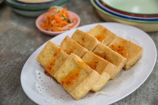 Fried Thai Style Tofu
