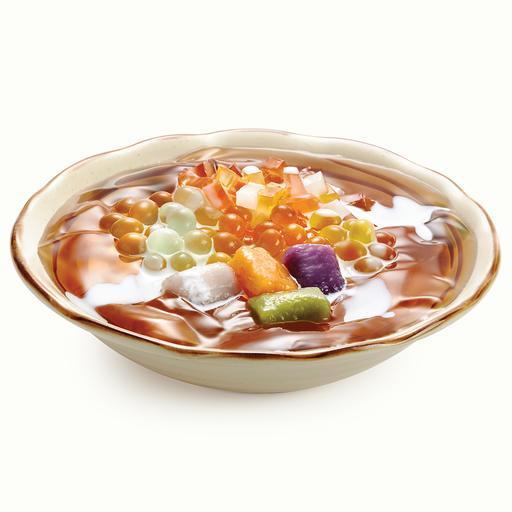 4. Fruity Ai-Yu Jelly 水果晶球爱玉冻