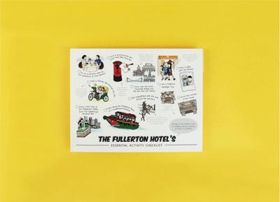 Fullerton Activities Postcard