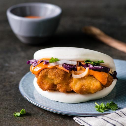 Garlic Chicken Bao
