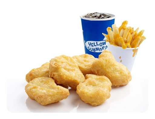 Gold Nuggets Meal