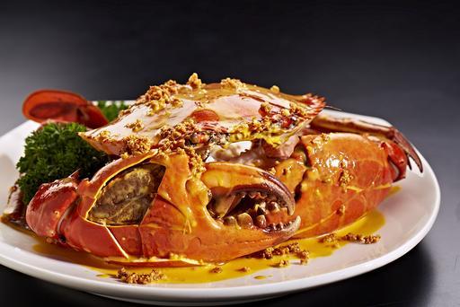 Golden Creamy Butter Crab