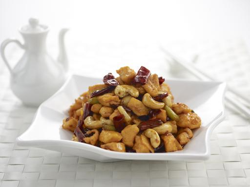 Gong bao chicken (宫保鸡丁)