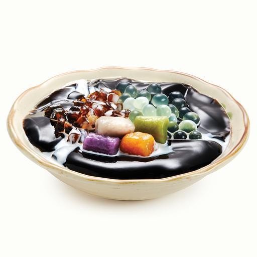 1. Grass Jelly Special 黑糖芦荟仙草冻