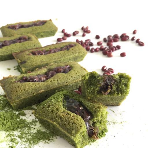 Japanese Matcha Azuki Tea Cakes