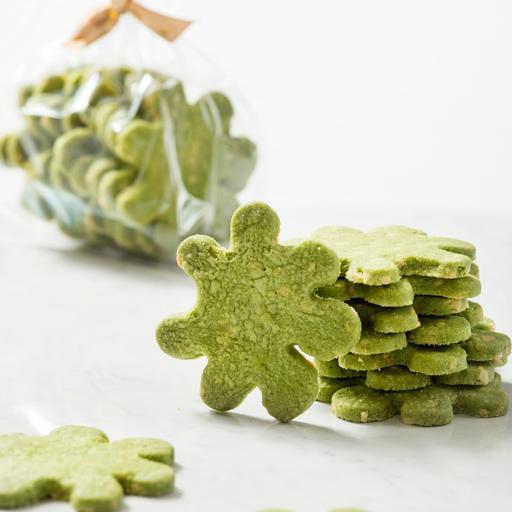 抹茶杏仁 Green Tea Almond Cookies