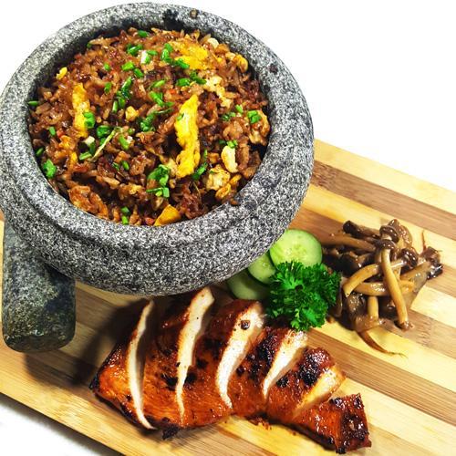Grilled Miso Chicken with Garlic Fried Rice (13-Dec)