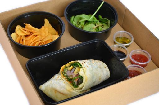 Grilled Vegetable Tortilla Wrap (V)