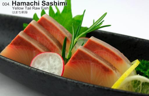 Hamachi (Sashimi)