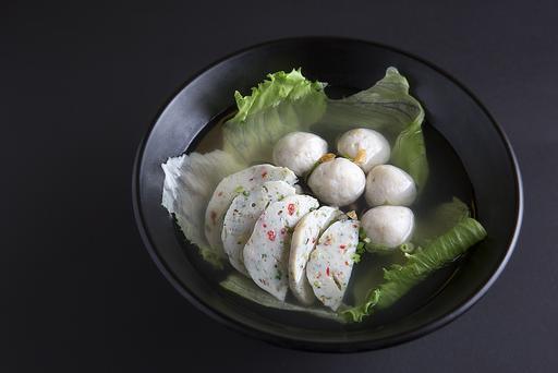 #14 Handmade Fishcake & Fishball Soup