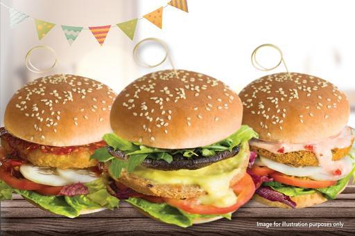 Trio Burger Party Meal