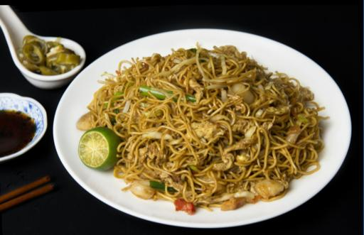 Hong Kong Style Fried Noodles