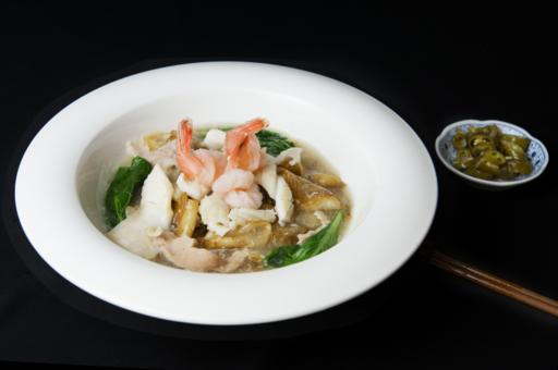 Hor Fun with Assorted Seafood