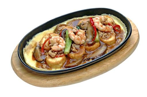 Hot Plate Beancurd 铁板豆腐