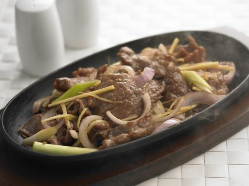 Hot Plate Beef (铁板牛肉)