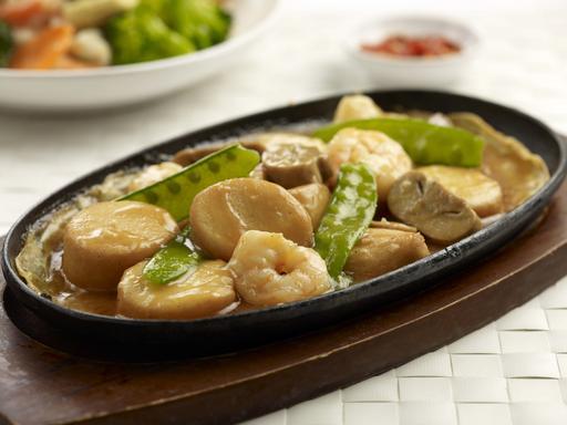 Hot Plate Tofu (铁板豆腐)