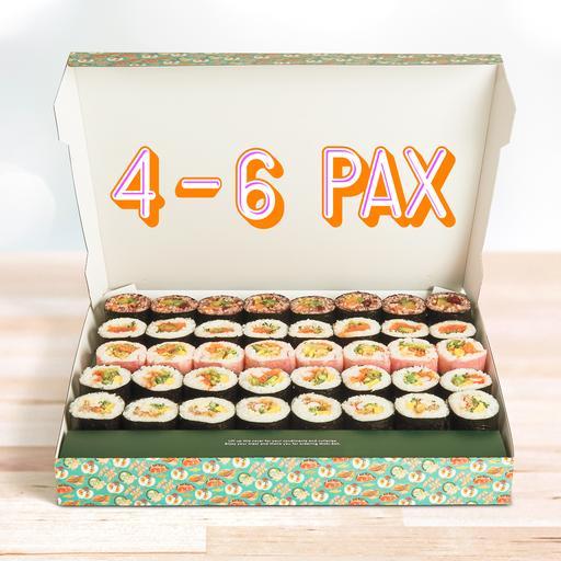 House Maki Platter (4-6 pax)