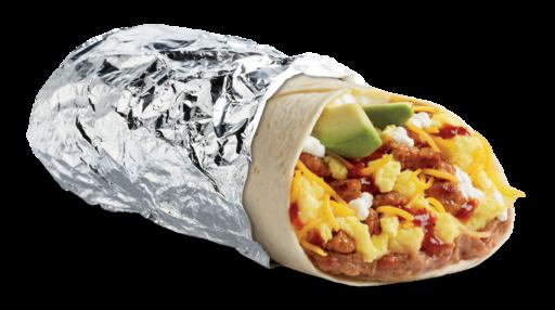 Huevos Ranchero Burrito