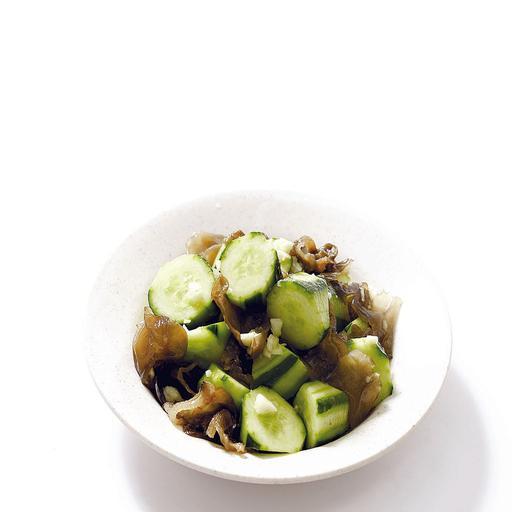 Japanese Cucumber & Black Fungus Salad 凉拌日本青瓜黑木耳