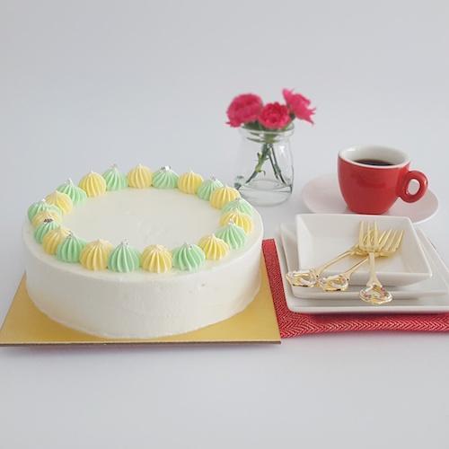 Japanese Pandan Cheesecake