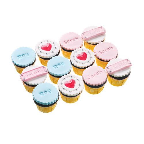 Just Married Cupcakes