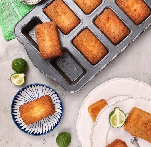 Kaffir Lime & Coconut Pound Cake