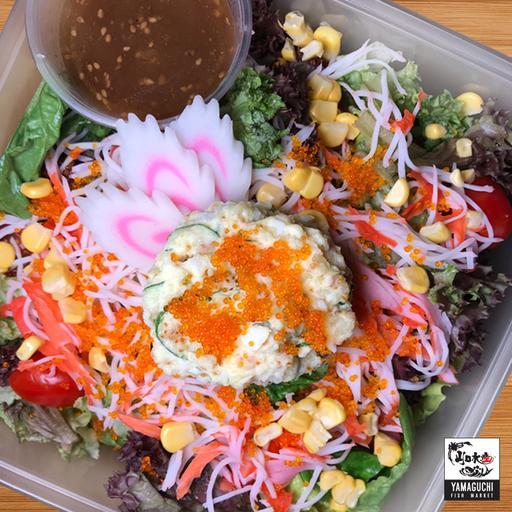 Kani Mayo Salad with Potato Salad