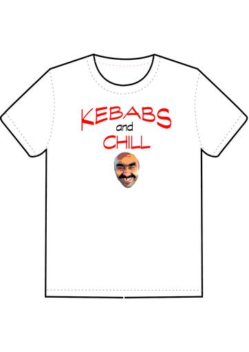 Kebabs and Chill T-Shirt