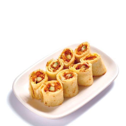 Layer Pancake with Egg & Pork Floss 千层饼