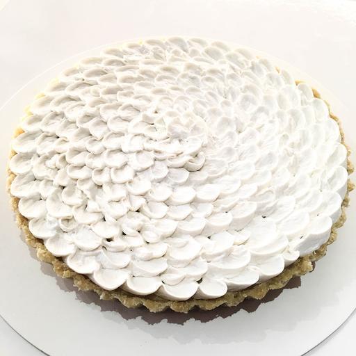 Lemon Coconut Cream Tart - NEW