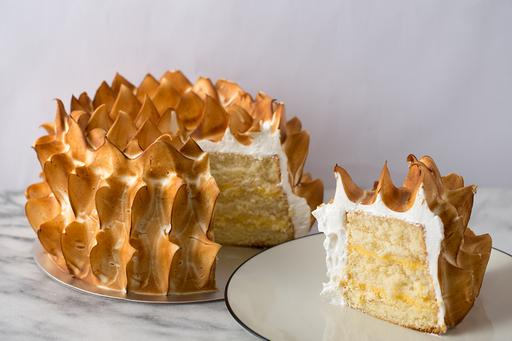 Lemon Meringue Sponge Cake