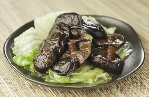 Lettuce with Mushroom 生菜东菇