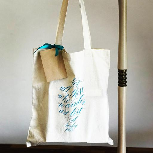 Linen Tote Bag (Small)
