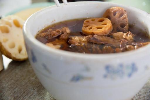 Lotus Roots Double Boil Soup