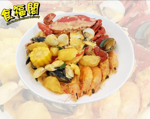 SINGLEI! Crab In Da Bag IMPERIAL POT  单蟹帝国袋 *Promotion!