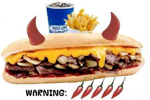 Mala Submarine Meal