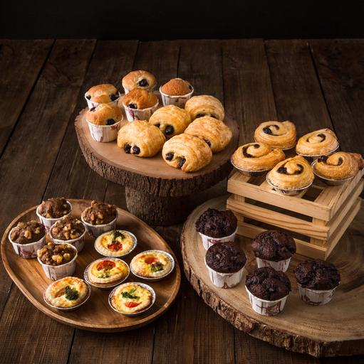 Mini Assorted Pastries Platter