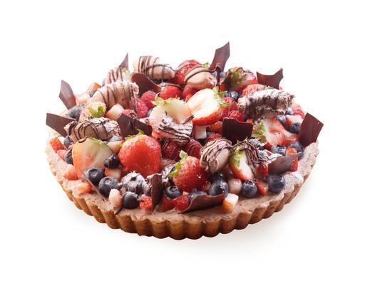 Mixed Berries Chocolate (23cm)