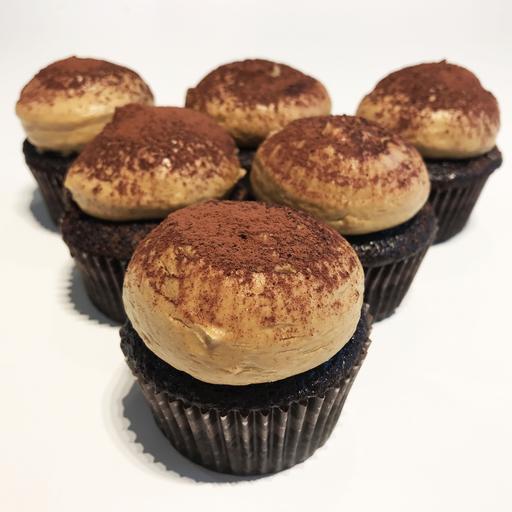 Mocha Cupcake (6s)