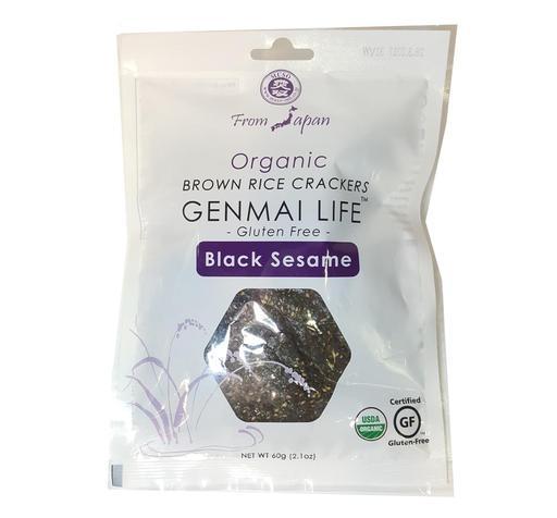 【Muso】 有機黑芝麻玄米餅  Muso black sesame macrobiotic crackers org.
