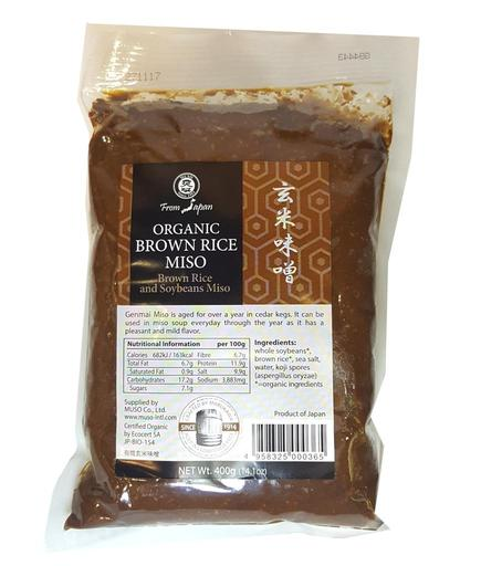 【Muso】 有機糙米味噌 Muso genmai miso org.