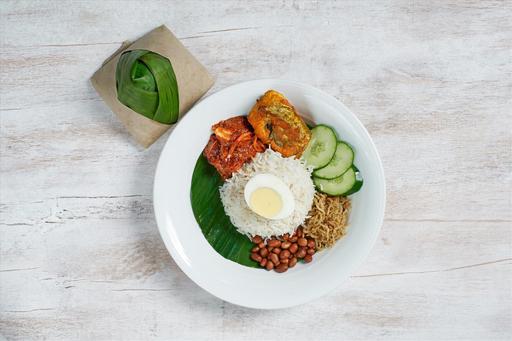 Nasi Lemak + Side Dish