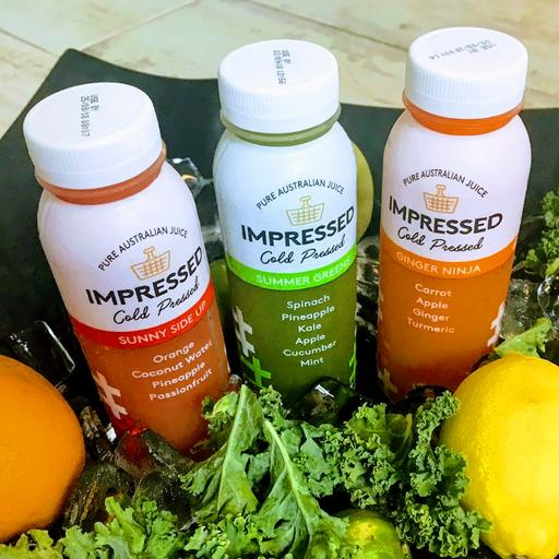New! Cold Pressed Juices