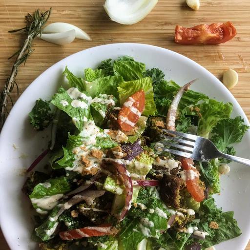 Falafel Mediterranean Salad