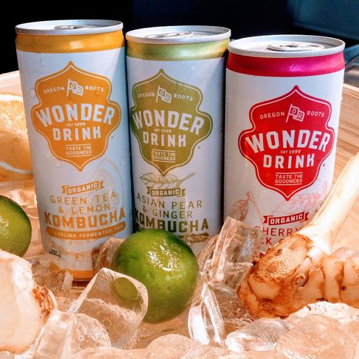 New! Kombucha Fermented Drinks