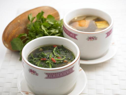 Old Cucumber with Almond Soup (老黄瓜南北杏汤)