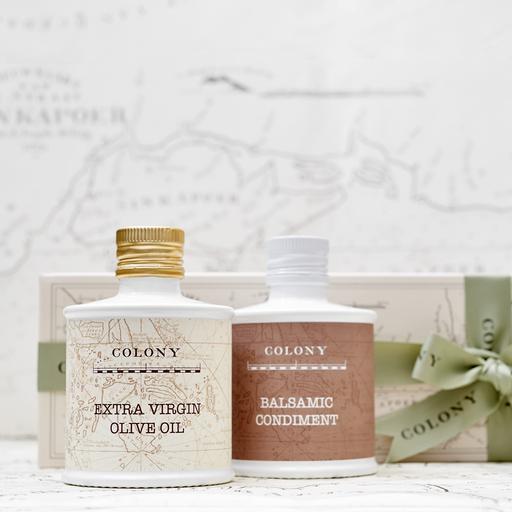 Olive Oil and Balsamic Vinegar Gift Set