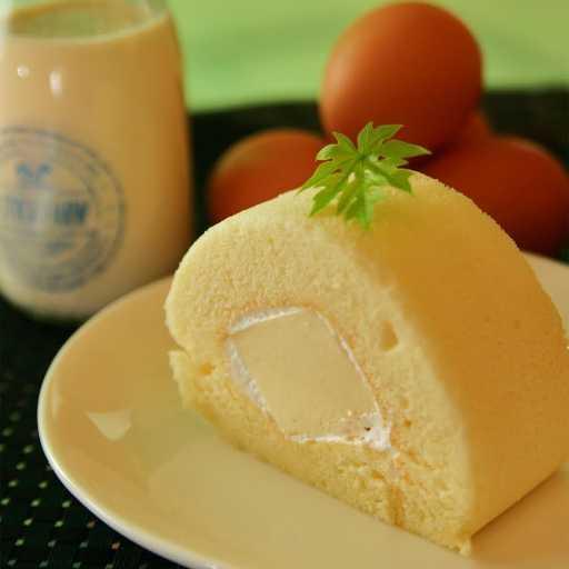 Original Blancmange Roll 原味奶冻卷
